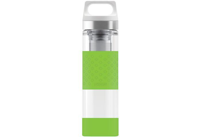 Термофляга Sigg Hot & Cold Glass Wide Mouth Bottle Green 0.4 L