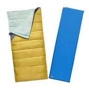 Комплект спальник и коврик Kelty Campgroud Kit