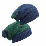 Шапка-шарф Buff Knitted Neckwarmer Hat Zile Blue