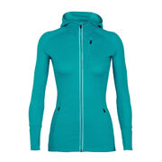 Худи Icebreaker Women's Quantum Long Sleeve Zip Hood