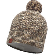Шапка Buff Knitted & Polar Hat Margo Brown Taupe/Grey