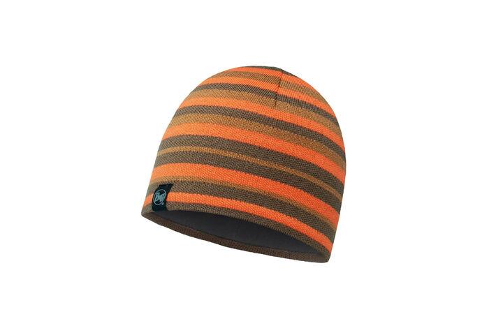 Шапка Buff Knitted & Polar Hat Laki Stripes Fossil
