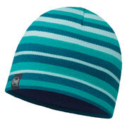 Шапка Buff Knitted & Polar Hat Laki Stripes Turquoise/Navy