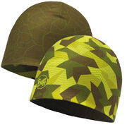 Шапка Buff Microfibre Reversible Hat Block Camo Green