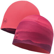 Шапка Buff Microfibre Reversible Hat Soft Hills Pink Fluor