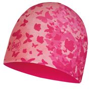Детская шапка Buff Child Microfiber & Polar Hat Butterfly Pink/Bright Pink