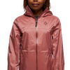 Куртка Black Diamond Women's Treeline Rain Shell - изображение 6