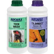 Набор средств Nikwax Twin Pack Tech Wash 1 л и Nikwax TX.Direct 1 л