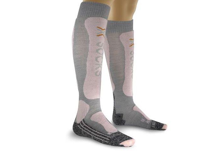 Женские горнолыжные термоноски X-Socks Skiing Lady Comfort Supersoft