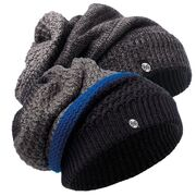 Шапка-шарф Buff Knitted Neckwarmer Hat Ridle Black