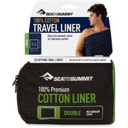 Вкладыш в спальник Sea to Summit Premium Cotton Liner Double