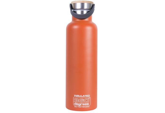 Термофляга 360 Degrees Vacuum Insulated Orange 750 мл