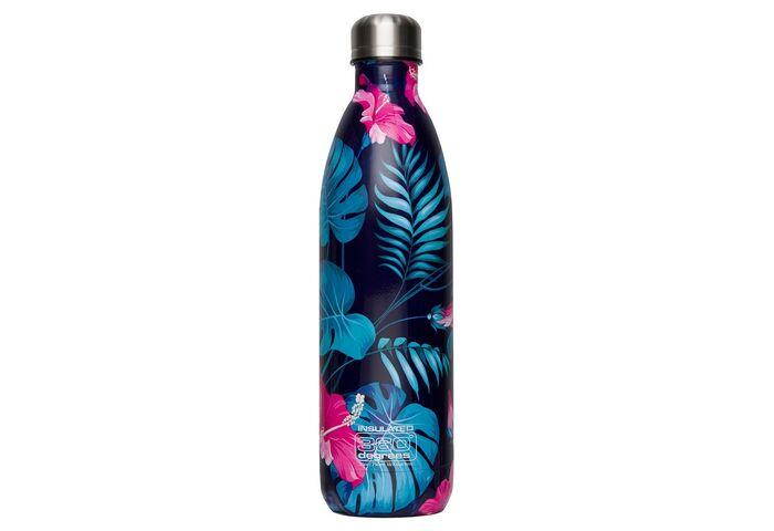 Термофляга 360 Degrees Vaccum Insulated Soda Bottle Flower 750 мл