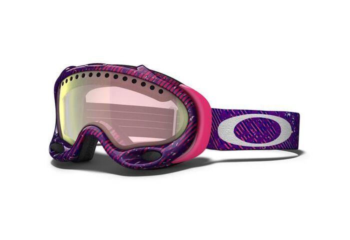 Маска Oakley A-Frame Camo Net Fuchsia / VR50 Pink Iridium