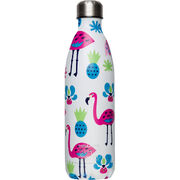Термофляга 360 Degrees Vaccum Insulated Soda Bottle Flamingo 550 мл