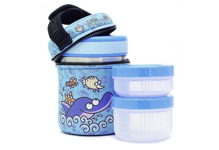 Дитячий термос для їжі Laken Thermo Food Container 1л Delfin