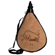 Фляга Laken Leather canteen 1 L straight form