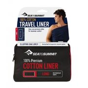 Вкладыш в спальник Sea To Summit Premium Cotton Travel Liner Long
