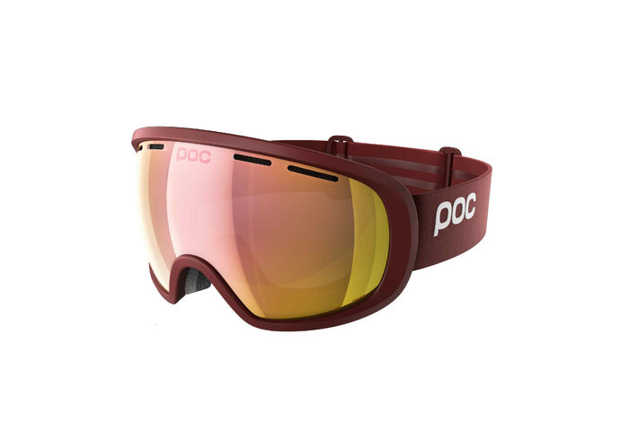 Горнолыжная маска POC Fovea Clarity Lactose Red / Spektris Rose Gold