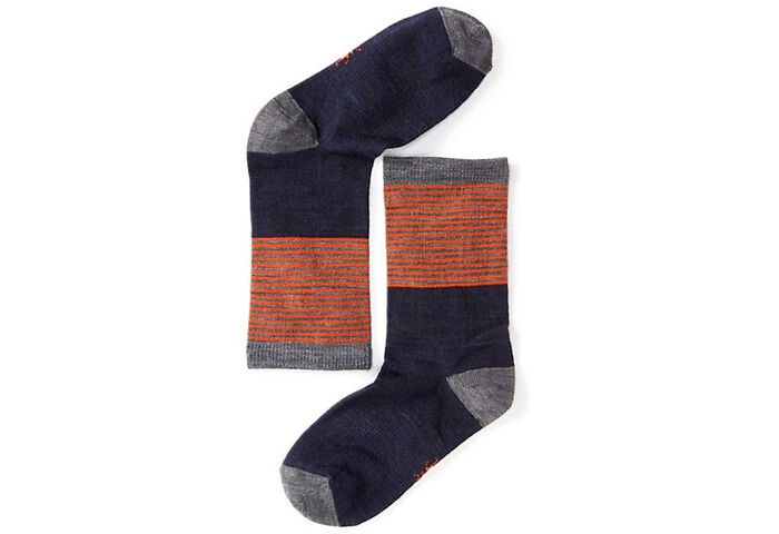 Детские термоноски Smartwool Boys' Tailored Stripe Crew Socks
