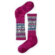 Детские термоноски Smartwool Girls' Wintersport Fairisle Moose Socks