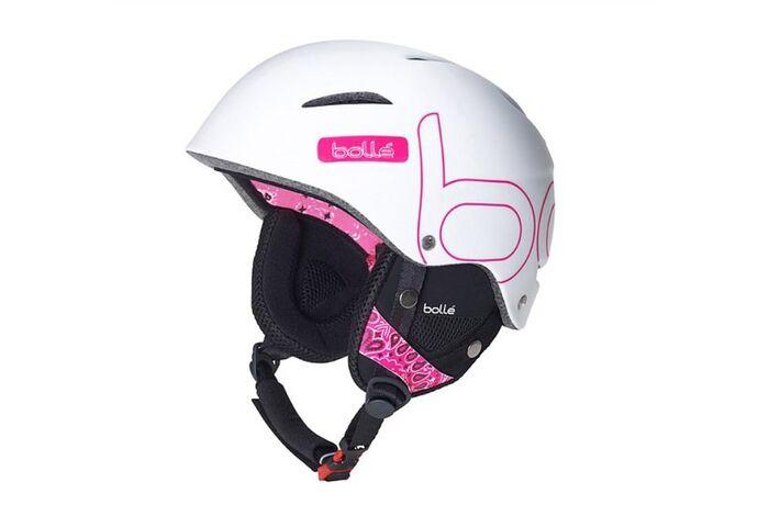 Шлем Bolle B-Star Soft White Bandana 58-61