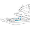 Снегоступы TSL Escape Easy Subli 325 мужские с принтом - изображение 8