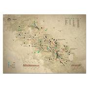 Скретч карта Kuluar Карпати