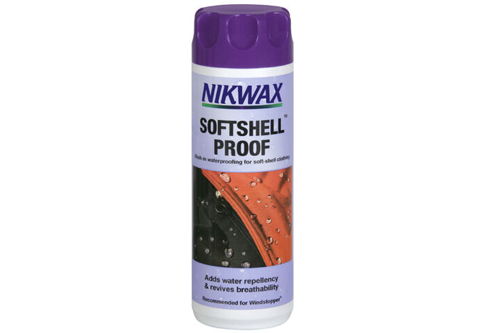 Пропитка Nikwax SoftShell Proof Wash-In 300мл