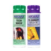 Набор средств Nikwax Twin Pack Tech Wash 300ml и Nikwax TX.Direct 300ml