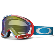 Маска Oakley A-Frame 2.0 1977 Red Blue / H.I. Yellow