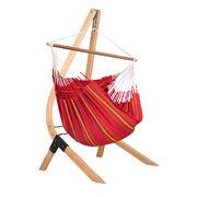 Подвесной стул-гамак со стойкой La Siesta Lounger Currambera CUL212VEA161