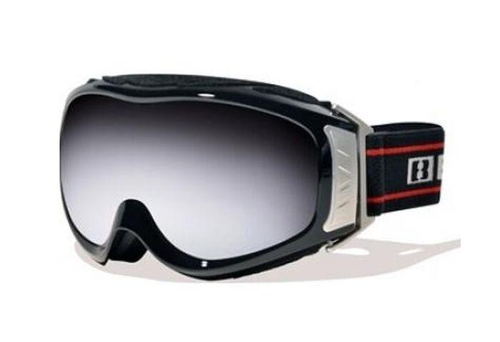 Маска Bliz Slope Pro OTG Black / Orange w Silver Mirror