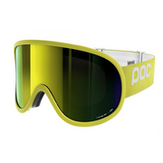 Горнолыжная маска POC Retina Big Hexane Yellow / Bronze Yellow Mirror