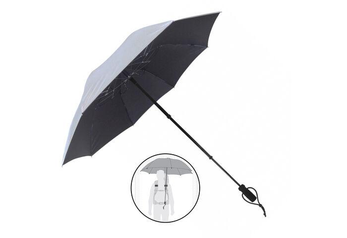 Зонт туристический EuroSCHIRM TeleScope Handsfree Silver