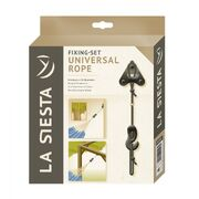 Крепления для подвесных гамаков La Siesta Fixing-Set Universal Rope UR-H3