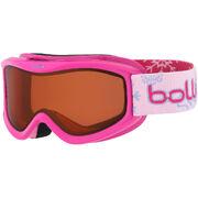 Детская маска Bolle AMP Pink Snow / Citrus Dark