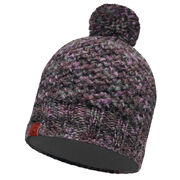 Шапка Buff Knitted & Polar Hat Margo Plum/Grey Vigore
